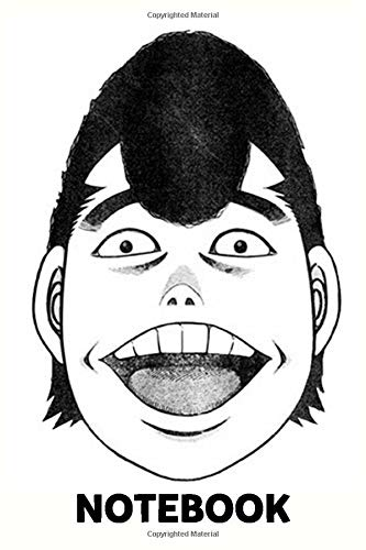 Hajime No Ippo Takamura Face Notebook: (110 Pages, Lined, 6 x 9)