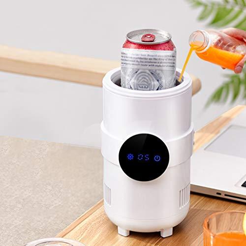 Réfrigérateur de Voiture USB Mini Réfrigérateur Portable Refroidissement / Chauffage Électrique 5-55 ℃ Réglable 8 Heures À Température Constante Eau Minérale Boissons En Conserve Médicaments de Bièr
