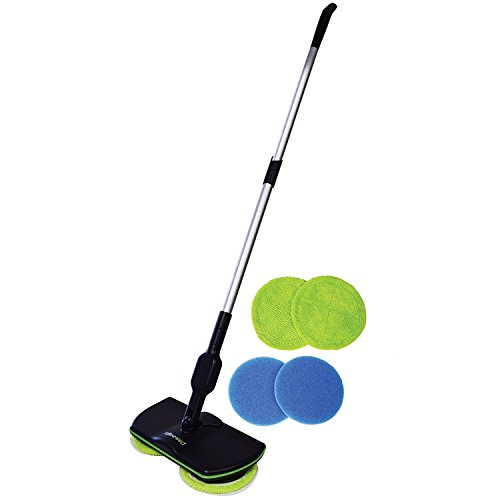 Zoom TV Spin Maid - Rechargeable, Cordless, Powered Floor Cleaner