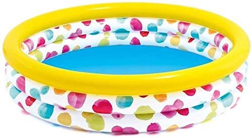 RTUHRJLXJ Plegable Piscina, Al Aire Libre For Adultos Bebé del Partido Paso Jardín del Patio Trasero Tenía 3 Años