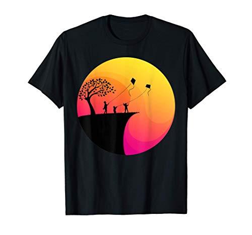 Lenkdrachen Drachenfliegen Hängegleiten Drachensteigen Hobby T-Shirt