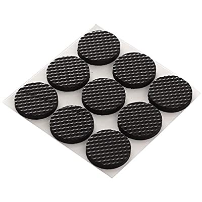 Premium Furniture Pads,Thick Non-Slip Rubber (No glue or Nails) Pad Foot Cover Self-Furniture Gripper - Stops Slide -- Adhesive Pads - Protectors