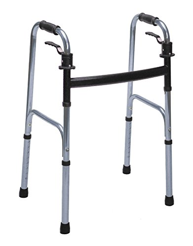 Essential Medical Supply Endurance Junior Trigger Walker, Silver, 1 Inch
