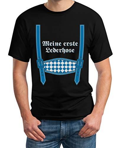 Oktoberfest Wiesn Outfit - Mijn eerste leren broek heren T-shirt
