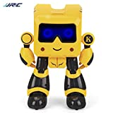 Greatangle JJRC R17 Robot Educativo para niños Juguete Inteligente Robot de inducción de Ahorro con Baile Sensible al Tacto para niños
