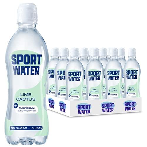 Sportwater Lime-Cactus 0,5L (24 flesjes, incl. statiegeld)