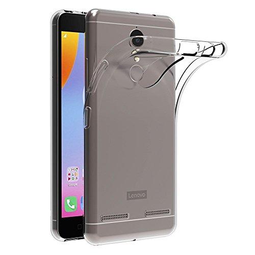MaiJin Hülle für Lenovo K6 (5 Zoll) Crystal Clear Durchsichtige Backcover Handyhülle TPU Hülle