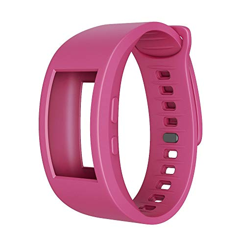 TPulling Sansung Gear Fit 2Pro Bracelet de Sport en Silicone Souple Taille 140 à 220 mm, Rose Bonbon