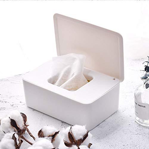 PiniceCore Tissue Box Deckel Trocken Nass-seidenpapier-Kasten-Halter-aufbewahrungsbehälter Wipes Container Serviette-Halter-organisatoren Home Decor