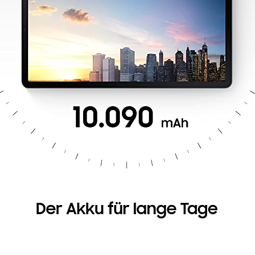 Samsung Galaxy Tab S7 FE 12,4 Zoll 5G Android Tablet Mystic Silver