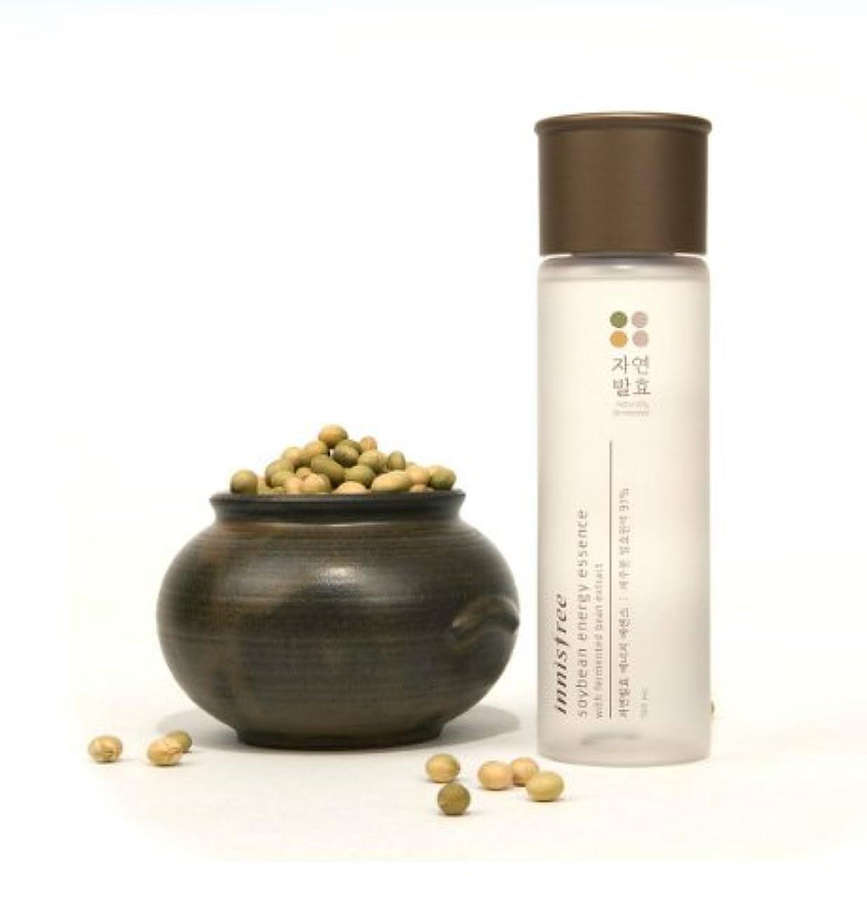 吸収剤ブラザーハリケーン(Innisfree イニスフリー) Soybean energy essence 自然発酵 エナジー エッセンス 美容液 肌のバリア機能を強化し、健やかでパワーあふれる肌へ導くトータルケアブースター美容液