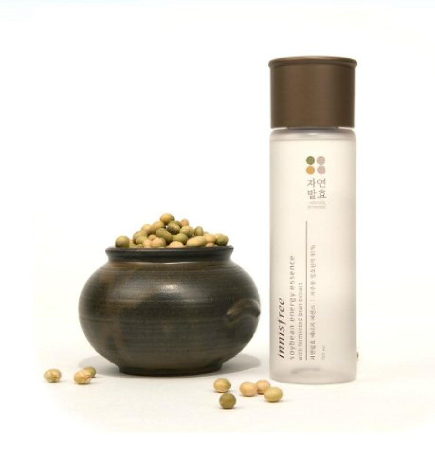 白鳥意外着飾る(Innisfree イニスフリー) Soybean energy essence 自然発酵 エナジー エッセンス 美容液 肌のバリア機能を強化し、健やかでパワーあふれる肌へ導くトータルケアブースター美容液