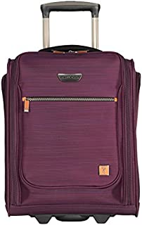 Ricardo Beverly Hills Ricardo Beverly Hills San Marcos 16-inch Under Seat Rolling Tote, Violet Purple (Purple) - 092-16-542-RLT