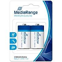 MediaRange Premium Baterías (2) 1,5V MRBAT108 LR14 Alkaline Baby C
