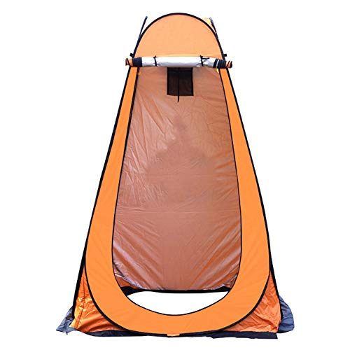 Isbasic Camping Tent with Carrying Bag, Storage Room Tents, Pop Up Toilet Shower Privacy Tent, for Outdoor Changing Dressing Fishing Bathing(OR)