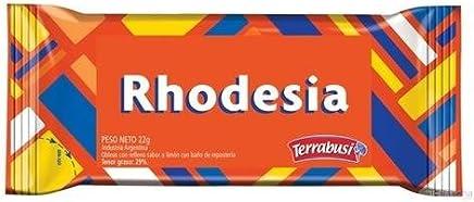 Rhodesia Obleas PACK of 6. - Relleno sabor a Limon de Reposteria 22 gr.