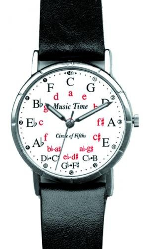 Music Treasures Circle of Fifths Watch