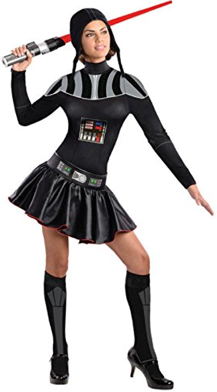 Original Star Wars Darth Vader Ladies Costume black silver M