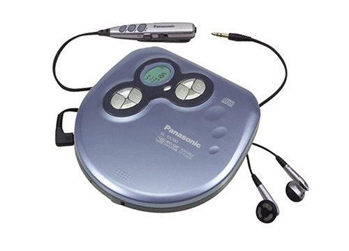 Panasonic SL-SX 380 CD-Player blau