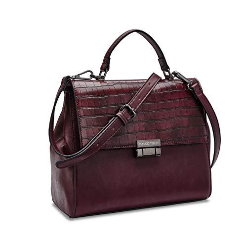 MARCO TOZZI Damen Handtasche 2-2-61030-25, Bordeaux Comb, 1 EU