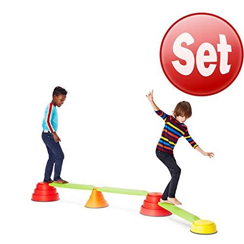 Gonge Build NBalance® Rundbalken Kinder Gleichgewicht Lernspiel Spaß Balance