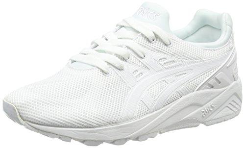 ASICS Herren Gel-Kayano Trainer Evo Sneakers, Weiß (White/White 0101), 38 EU