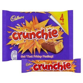 Original Cadbury Crunchie Chocolate Pack Bar Im Over Special price for a limited time item handling ☆