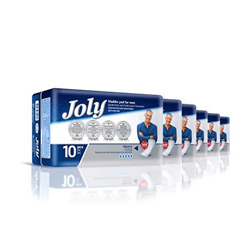 Abelsmann - Joly Inkontinenzeinlagen für Männer - 6er Pack - Gegen Blasenschwäche und Inkontinenz
