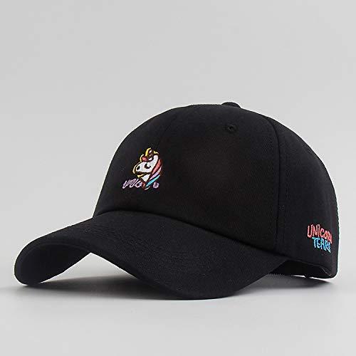 Lindo Pony Bordado Sombrero de béisbol Protector Solar de Verano Gorra para Mujer Moda Coreana Todo fósforo