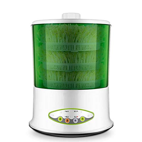 Plant Kiemkracht Kits, Electric Sprout Bud Machine Intelligent Thermostaat Vegetable Green Seeds Growing Automatische Taugé Maker Voor Garden Home Use