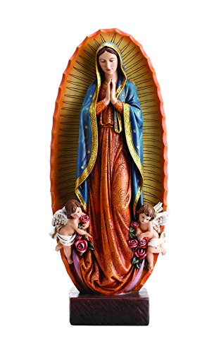 Estatua de resina nuestra señora Virgen de Guadalupe, 231/2Inch