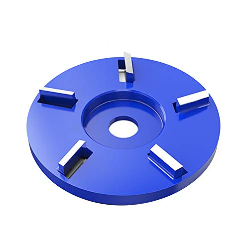 pengyus 5-tooth High-cutting Metal Anti-rust Surface Grinding Disc For Angle Grinder Blue