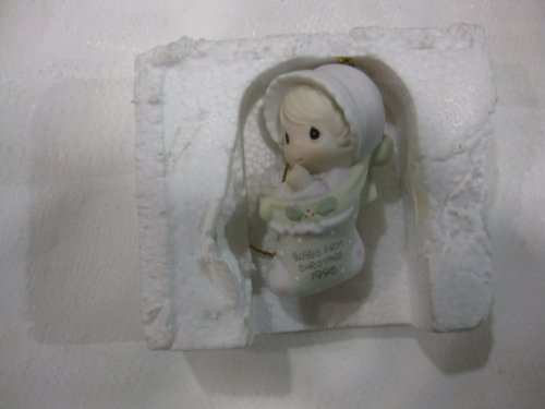 1996 Baby's First Christmas Annual Edition Stocking Ornament