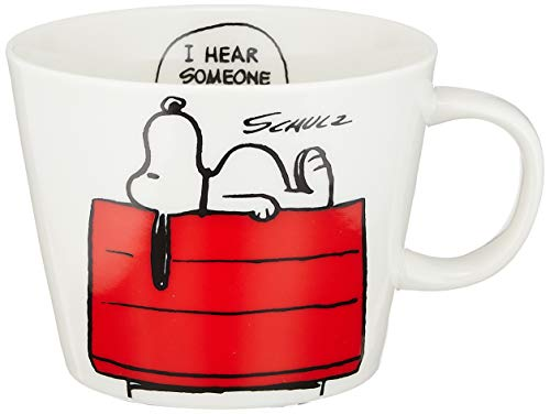 Snoopy Peanuts Large Size Mug Snoopy's House STB-1207