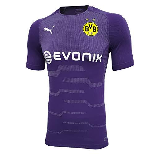 PUMA BVB Borussia Dortmund - Herren Evoknit Authentic Trikot 18/19-753301-05 violett, Größe:XXL