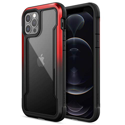 Raptic Shield Case Compatible with iPhone 12 Case & iPhone 12 Pro Case, Shock Absorbing Protection,...