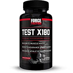 force factor test x180 ingredients