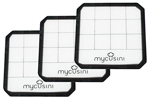 mycusini Silicone Mat (Pack of 3) – Accessories MYCUSINI 3D Food Printer