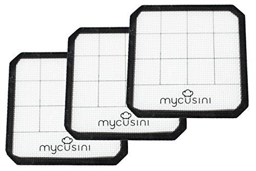 mycusini Silikonmatte (3 Stück) - Zubehör mycusini 3D Lebensmitteldrucker