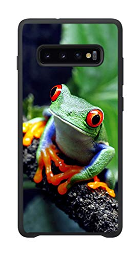 GAOAG for Samsung Galaxy S10 Case,Beautiful Frog Pattern Phone case.Shock Absorption Protection Phone Cover Case.