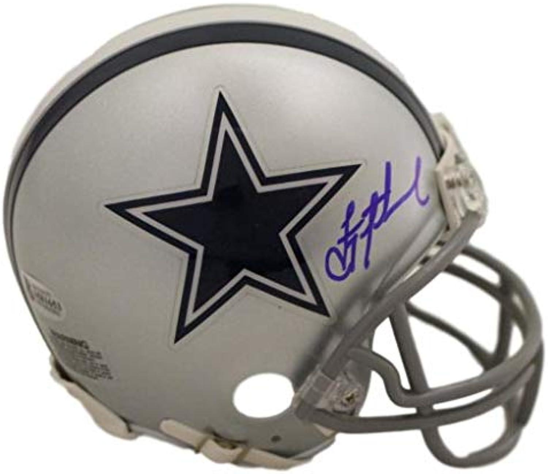 Troy Aikman Autographed Dallas Cowboys Mini Helmet BAS