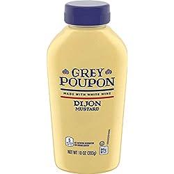 Grey Poupon Dijon Mustard (10 oz Bottle)
