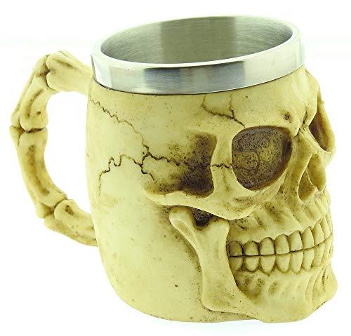 Taza de Calavera - 3D - Calavera - Esqueleto - Acero Inoxidable...