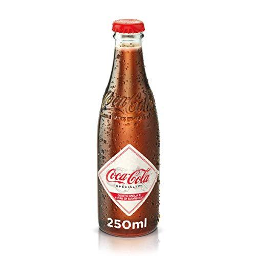 Coca-Cola Craft Gusto Mela e Fiori di Sambuco Limited Edition - 1 Bottiglia di Vetro da 250 ml