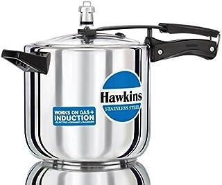 Hawkins Stainless Steel 6.0 Litre Pressure Cooker by Hawkins