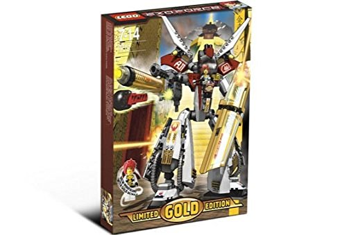 Lego Exo Force Set Limited Gold Edition #7144 Golden Guardian