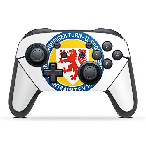 DeinDesign Skin kompatibel mit Nintendo Switch Pro Controller Folie Sticker Offizielles Lizenzprodukt Eintracht Braunschweig Wappen