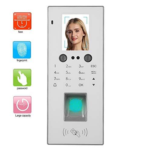 2,8 inch vingerafdruk aanwezigheid machine gezicht & vingerafdruk & wachtwoord & kaart TCP / IP werknemer timer met T9 toetsenbord, 300 gezicht capaciteit / 1000 vingerafdruk capaciteit