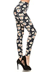 Our Bestselling Print Leggings -Make sure to check for new items!!! Fitted, Tapered leggings that hit between calf and ankle; Great layer piece. / Measurement Provided on Description Below Machine-washable, recommended cold hand wash, hang dry