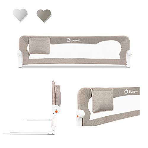 Lionelo Eva sponda letto universale barriera protettiva per letto installazione facile e veloce 180...